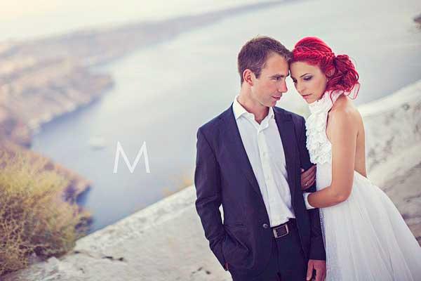 Santorini Destination Wedding Photographer | Dimitra and Nikos