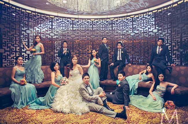 Holy Trinity and Edsa Shangri-la Weddings | Jiselle and Ifore