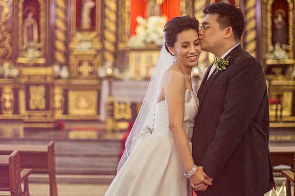 Santuario de San Antonio and The Manila Polo Club Weddings | Roselyn and Boopsie