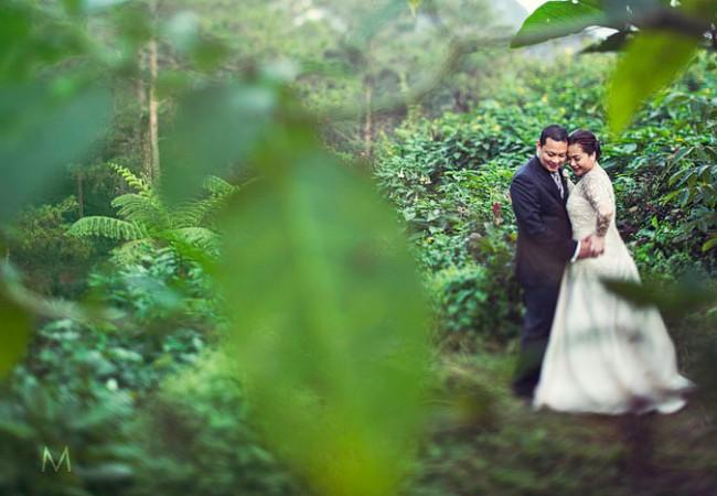 Baguio Destination Wedding | Caress and Jonji