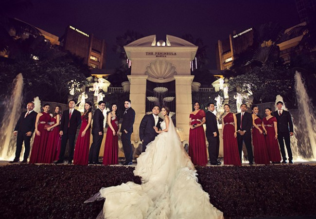 Manila Peninsula and Santuario de San Antonio Wedding | Carol and JR