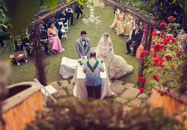 Two Gardens Tagaytay Wedding   Judie and Romeo