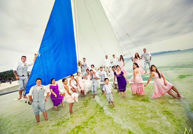 Seawind Boracay Destination Wedding | Jaja and Dave