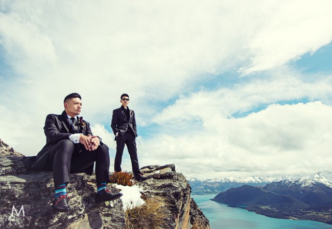 Queenstown New Zealand Wedding | Anthony and Glenn