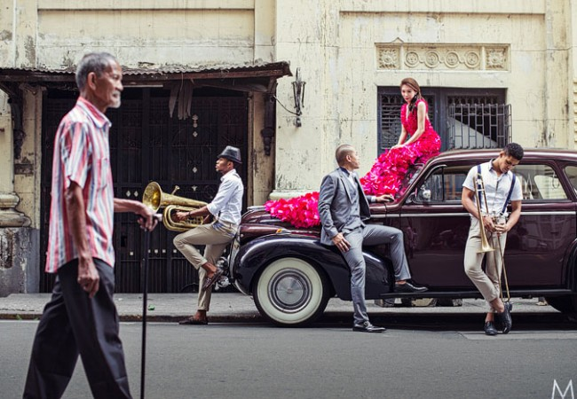 A Cuban Pre-wedding Shoot | Jazz and Archie