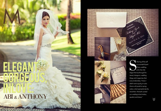 M by Metrophoto Issue #15 | Abi and Anthony