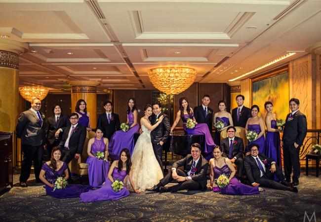 Makati Shangri-la Weddings | Evadne and Tim