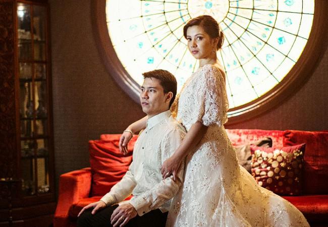 Manila Peninsula Wedding Photos   Macy and John