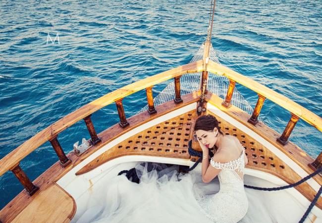 Santorini Destination Wedding Photographer | Maripet and Lexter