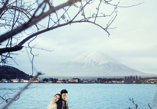 Japan Destination Pre-wedding Photographs | Jackie and Jim
