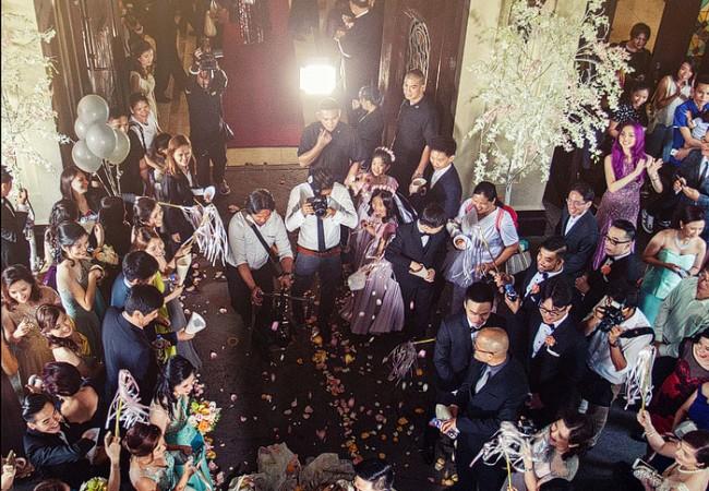 Santuario de San Antonio and Marriott Grand Ballroom Weddings | Mich and Bryan