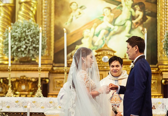 Official Photos from the Wedding of Pauleen Luna and Vic Sotto (Part 3 of 3)