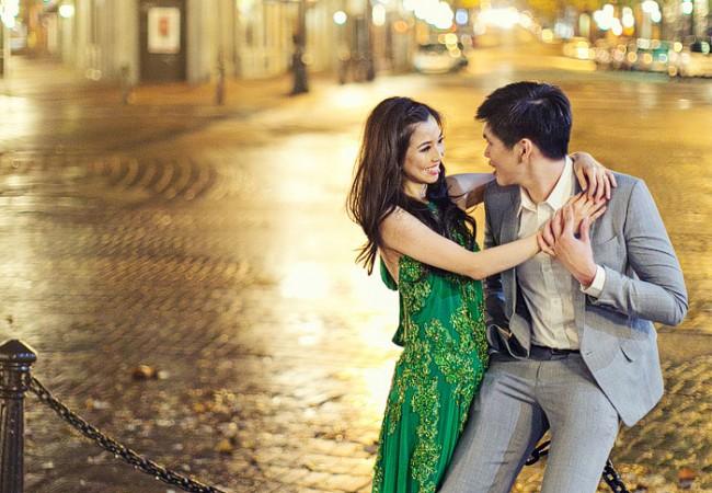 Northern Lights Pre-wedding | Liz and Marco