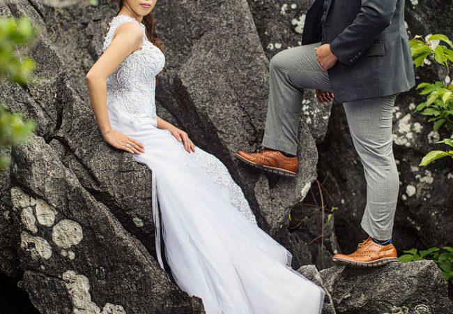 Masungi Geopark Trash the Dress   Shy and Ian Cruz