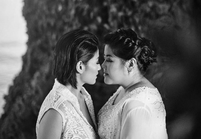 Boracay Same Sex Wedding Photographer | Rica and Ann
