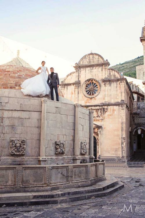 Dubrovnik Croatia Pre-wedding Photographer | Margaux and Francis