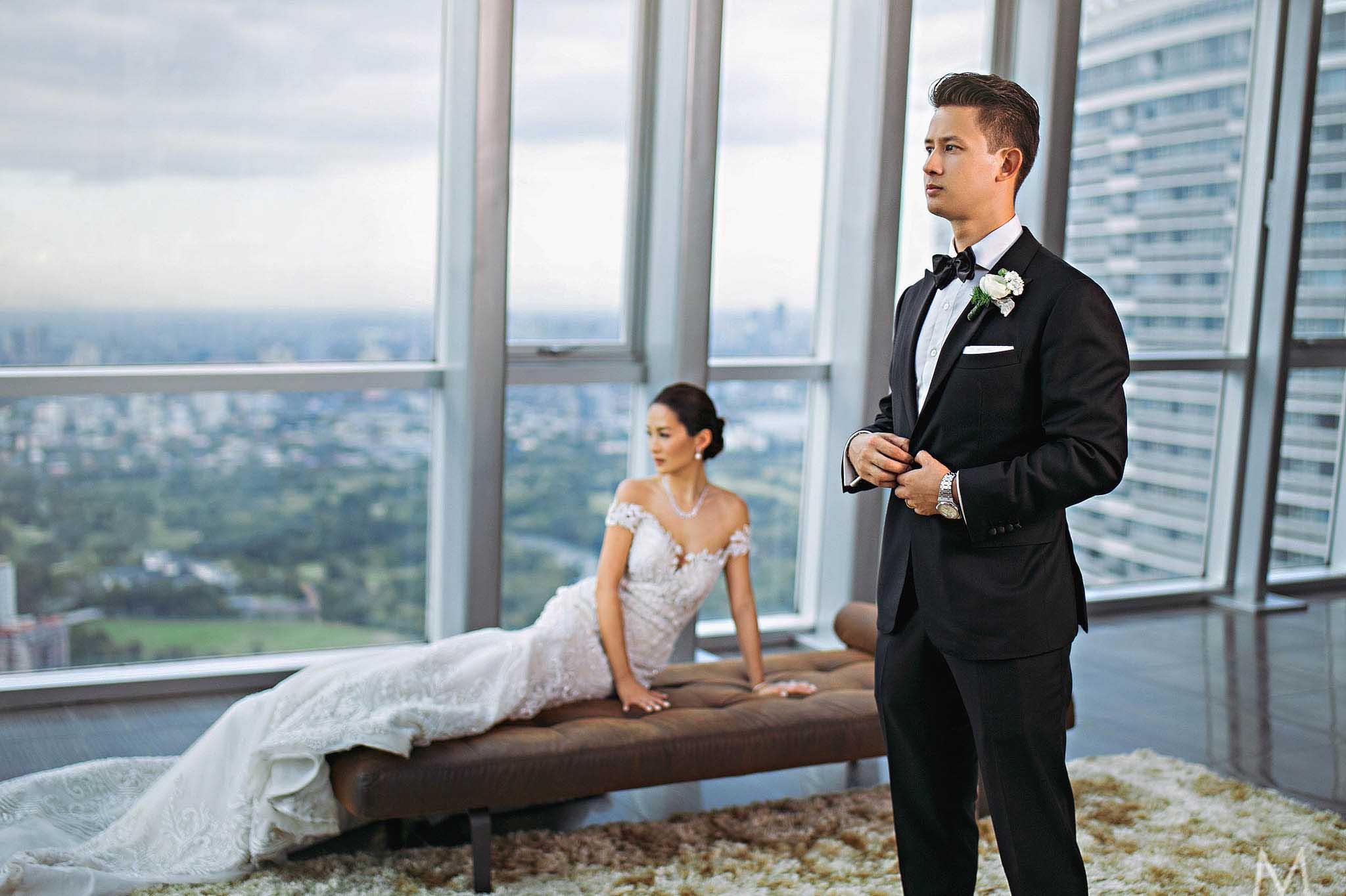 The Wedding of Kim and Graeme | Modern Destination Wedding ...