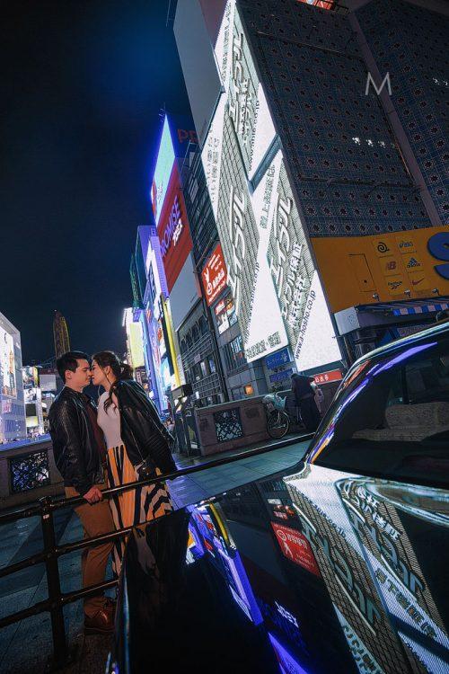 Osaka Japan Pre-Wedding Photographer | Marie and Abe